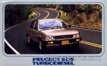 aut100052 - Peugeot 505 Turbodiesel Auto, Automobile, Car, Postcard Post Card