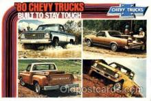 aut100061 - 1980 Chevy Trucks Auto, Automobile, Car, Postcard Post Card