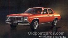 aut100064 - 1978 Nova Custom Sedan Auto, Automobile, Car, Postcard Post Card