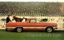 aut100066 - 1967 Ranchero Auto, Automobile, Car, Postcard Post Card