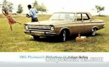 aut100073 - 1965 Plymouth Belvedere 2 Auto, Automobile, Car, Postcard Post Card