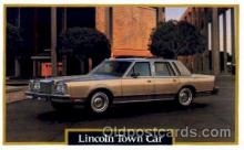 aut100075 - Lincoln Town Car Auto, Automobile, Car, Postcard Post Card