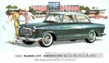 aut100078 - 1960 Rambler American Super Sedan Auto, Automobile, Car, Postcard Post Card