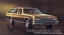aut100079 - 1978 Caprice Classic Station Wagon Auto, Automobile, Car, Postcard Post Card