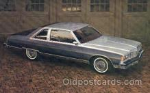 aut100082 - 1977 Pontiac Bonneville Coupe Auto, Automobile, Car, Postcard Post Card