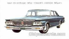 aut100088 - 1964 Chrystler New Yorker Sedan Auto, Automobile, Car, Postcard Post Card