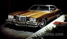 aut100091 - 1974 Pontiac Grand Ville Hardtop Auto, Automobile, Car, Postcard Post Card