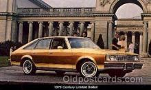 aut100102 - 1979 Century Limited Sedan Auto, Automobile, Car, Postcard Post Card
