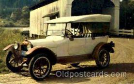 aut100116 - 1917 Velie Touring Auto, Automobile, Car, Postcard Post Card