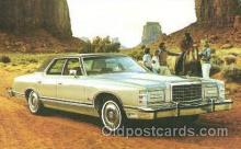 aut100120 - 1977 Ford LTD Auto, Automobile, Car, Postcard Post Card