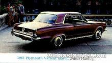 aut100124 - 1966 Plymouth Valiant Signet Auto, Automobile, Car, Postcard Post Card
