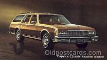 aut100128 - Caprice Classic Station Wagon Auto, Automobile, Car, Postcard Post Card