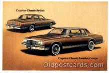 aut100131 - Caprice Classic Landau Coupe/Sedan Auto, Automobile, Car, Postcard Post Card