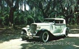 aut100150 - 1932 V-12 Phaeton Auto, Automobile, Car, Postcard Post Card