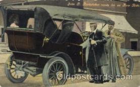 aut100174 - John D.Rockefeller Auto, Automotive, Vehicle, Car, Postcard Post Card