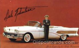 aut100185 - Buick, Wells Fargo, Dale Roberson Auto, Automotive, Vehicle, Car, Postcard Post Card