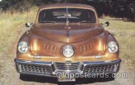 aut100186 - Preston Tucker, Janecek Motors, Oregon, USA Auto, Automotive, Vehicle, Car, Postcard Post Card