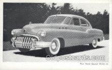 aut100207 - New buick special model 43 Automotive, Car Vehicle, Old, Vintage, Antique Postcard Post Card