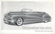 aut100208 - 1948 buick super four door Automotive, Car Vehicle, Old, Vintage, Antique Postcard Post Card