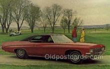 aut100210 - 1971 buick centurion formal coupe Automotive, Car Vehicle, Old, Vintage, Antique Postcard Post Card