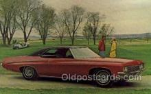 aut100211 - 1971 buick centurion formal coupe Automotive, Car Vehicle, Old, Vintage, Antique Postcard Post Card