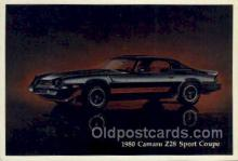 aut100215 - 1980 camaro z28 sport coupe Automotive, Car Vehicle, Old, Vintage, Antique Postcard Post Card