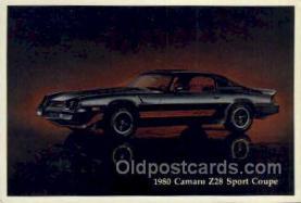 1980 camaro z28 sport coupe