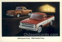aut100217 - 1982 pickup 1982 fleetside pickup Automotive, Car Vehicle, Old, Vintage, Antique Postcard Post Card