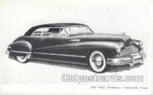 aut100220 - 1946 roadmaster cpnvertible coupe Automotive, Car Vehicle, Old, Vintage, Antique Postcard Post Card
