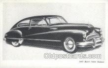 aut100224 - 1947 buick super sedanet Automotive, Car Vehicle, Old, Vintage, Antique Postcard Post Card