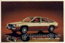 aut100228 - 1980 citaion hatchback sedan Automotive, Car Vehicle, Old, Vintage, Antique Postcard Post Card
