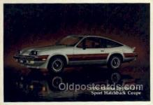 aut100229 - 1980 monza spyder 2+2 sport hatchback coupe Automotive, Car Vehicle, Old, Vintage, Antique Postcard Post Card