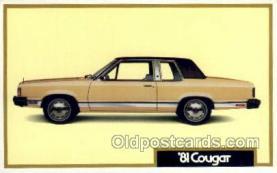 1981 cougar
