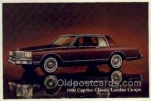 aut100246 - 1980 classic landau coupe Automotive, Car Vehicle, Old, Vintage, Antique Postcard Post Card