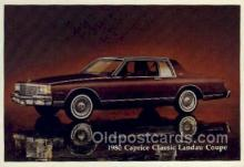 aut100248 - 1980 caprice classic landau coupe Automotive, Car Vehicle, Old, Vintage, Antique Postcard Post Card
