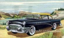 aut100252 - 1955 buick 48 special 2 door seddan Automotive, Car Vehicle, Old, Vintage, Antique Postcard Post Card