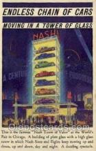 aut100260 - The famous nash tower of value Automotive, Car Vehicle, Old, Vintage, Antique Postcard Post Card