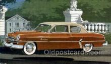 aut100267 - 1954 plymouth savoy club sedan Automotive, Car Vehicle, Old, Vintage, Antique Postcard Post Card