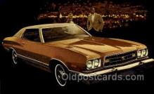 aut100271 - 1973 gran torino 2 door hardtop Automotive, Car Vehicle, Old, Vintage, Antique Postcard Post Card