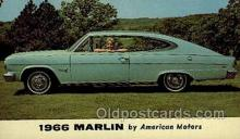 aut100280 - Marlin 66 Automotive, Car Vehicle, Old, Vintage, Antique Postcard Post Card