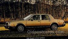 aut100281 - 1980 skylark 4 door limited Automotive, Car Vehicle, Old, Vintage, Antique Postcard Post Card