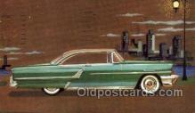 aut100294 - 1955 mercury monticlair coupe Automotive, Car Vehicle, Old, Vintage, Antique Postcard Post Card
