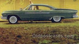 aut100316 - Dodge dart phoenix two door hardtopd Automotive, Car Vehicle, Old, Vintage, Antique Postcard Post Card