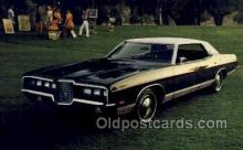 aut100319 - 1971 ford ltd 4 door hardtop Automotive, Car Vehicle, Old, Vintage, Antique Postcard Post Card