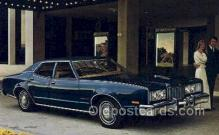 aut100321 - 1975 montego mx brougham 4 door pillared hardtop Automotive, Car Vehicle, Old, Vintage, Antique Postcard Post Card