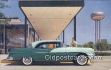 aut100331 - Pontiac 870 Four Door Catalina Auto, Postcard, Automobile Post Card Old Vintage Antique