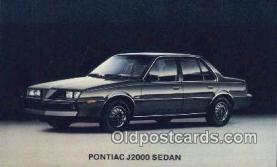 Pontiac J2000 Sedan