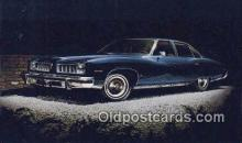 aut100339 - Pontiac 1974 Luxury LeMans 4 Door Colonnade Hardtop Auto, Post Card, Automobile Postcard Old Vintage Antique
