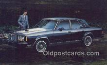 aut100340 - Pontiac 1982 Bonneville Model G Brougham Automobile Postcard Auto, Post Card Old Vintage Antique