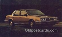 aut100341 - Pontiac 1982 6000 LE Sedan Automobile Postcard Auto, Post Card Old Vintage Antique